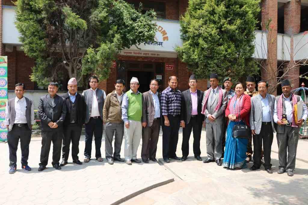 प्रदेश नं. ३ का सामाजिक विकास मन्त्री युवराज दुलाल वागीश्वरीमा
